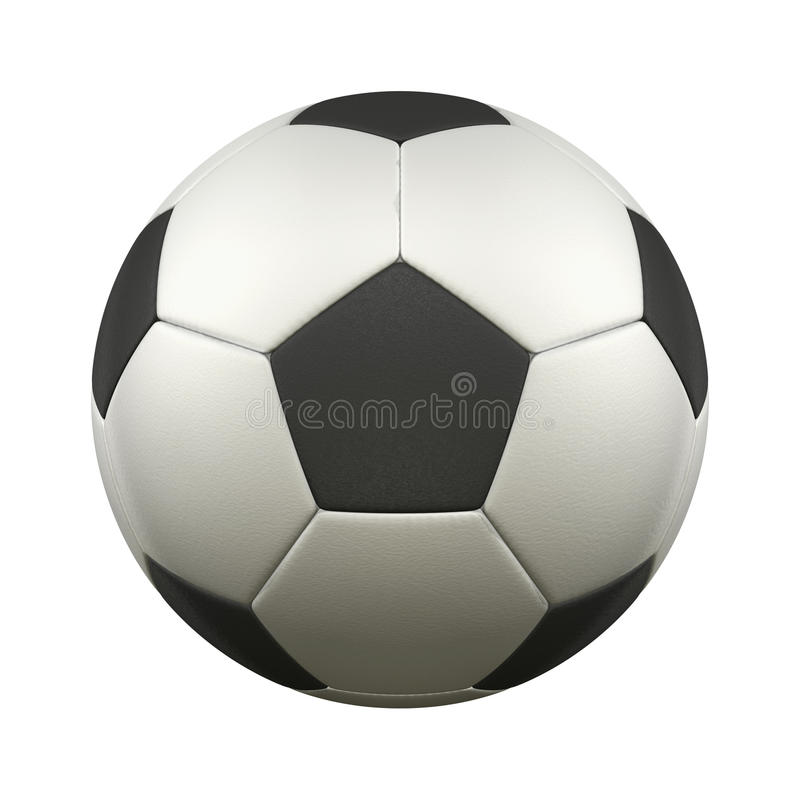 Pallone da calcio illustrazione vettoriale