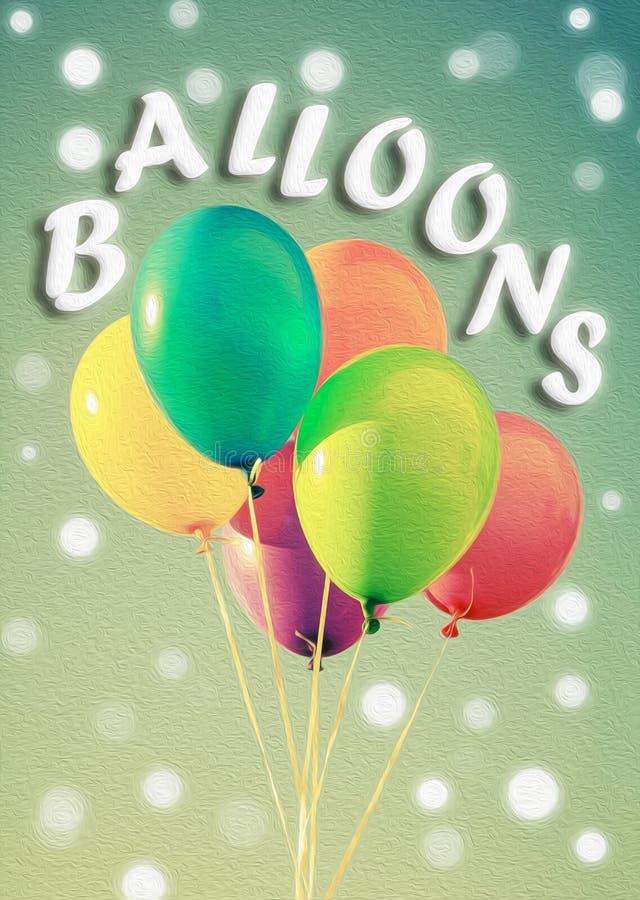 Palloni fotografie stock