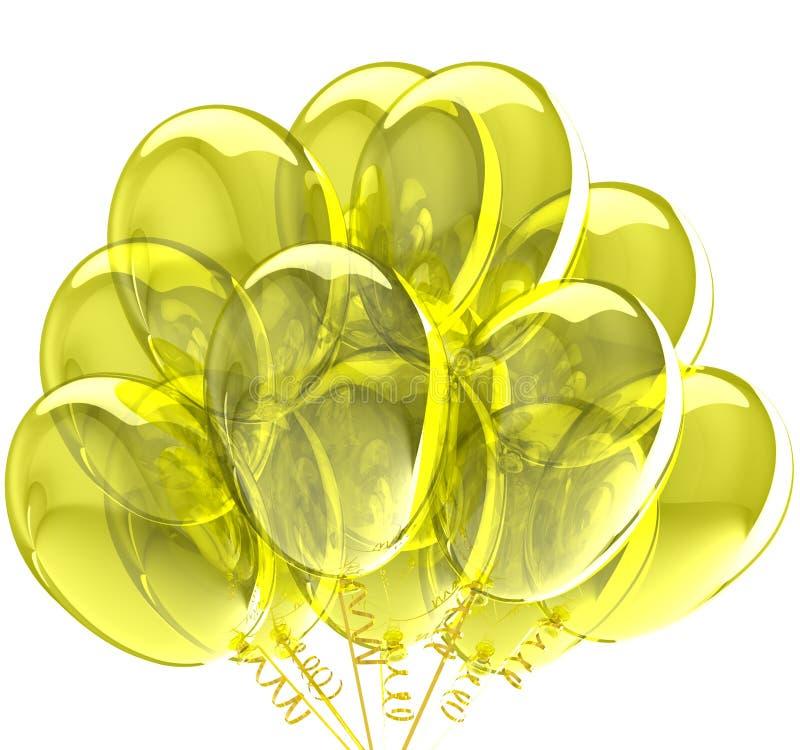 Palloni del partito. royalty illustrazione gratis