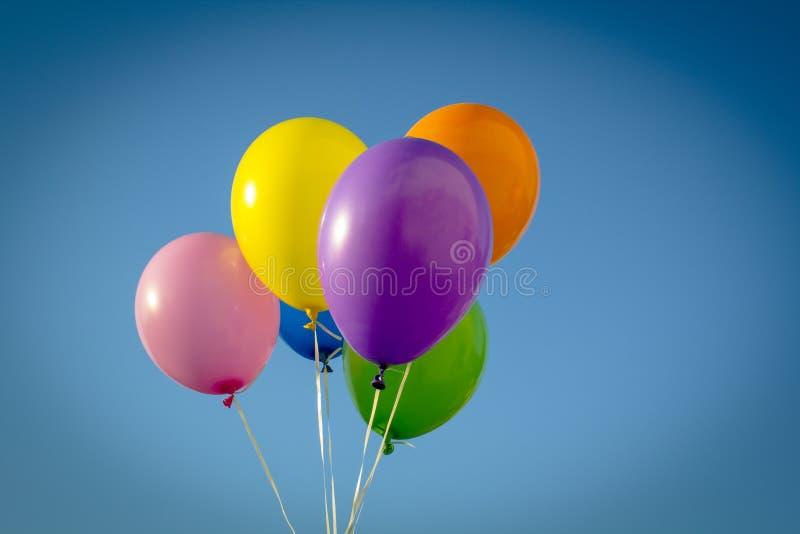 Palloni variopinti fotografia stock