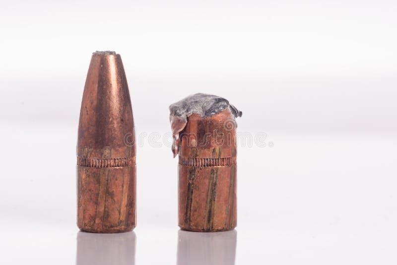 Pallottole di caccia del punto della guglia - recuperate fotografie stock