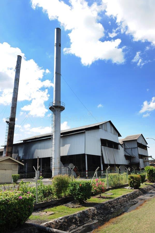 Palmöl-Fabrik lizenzfreie stockfotos