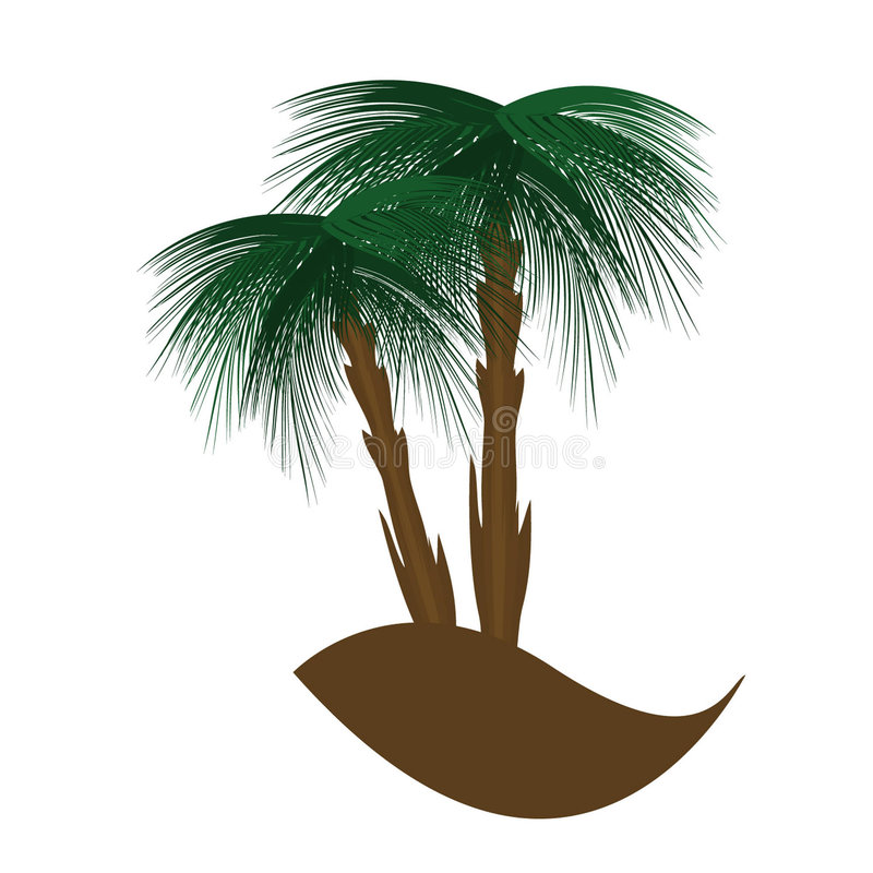 Palm stock illustration