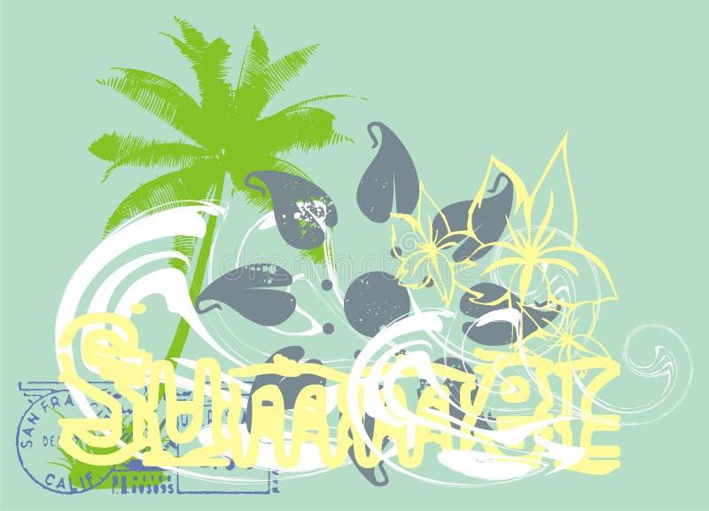 Palm Beach stock de ilustración