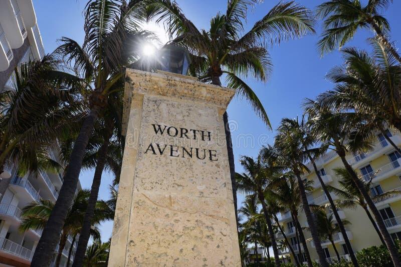 Palm Beach photos libres de droits