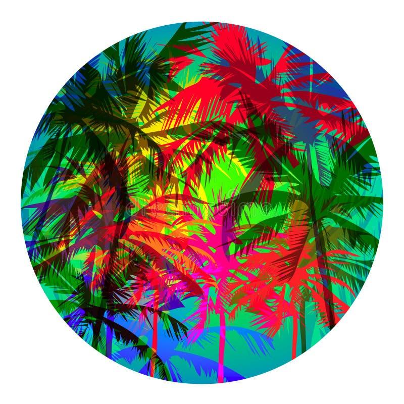 Palm Beach 4 ilustração stock