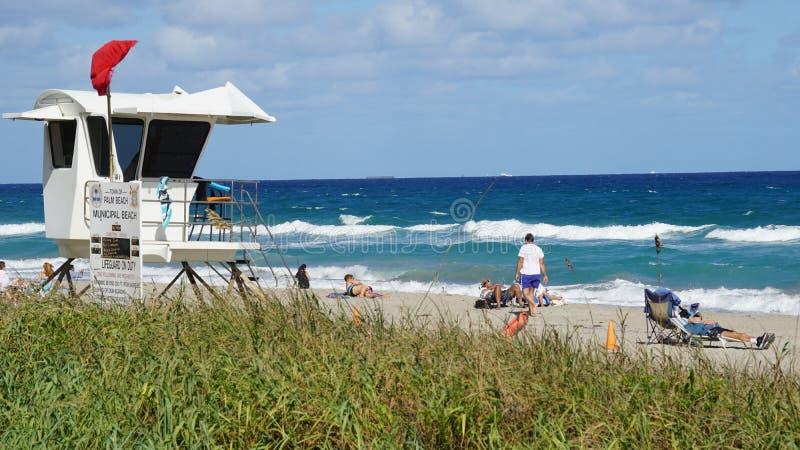 Palm Beach em Florida fotos de stock royalty free