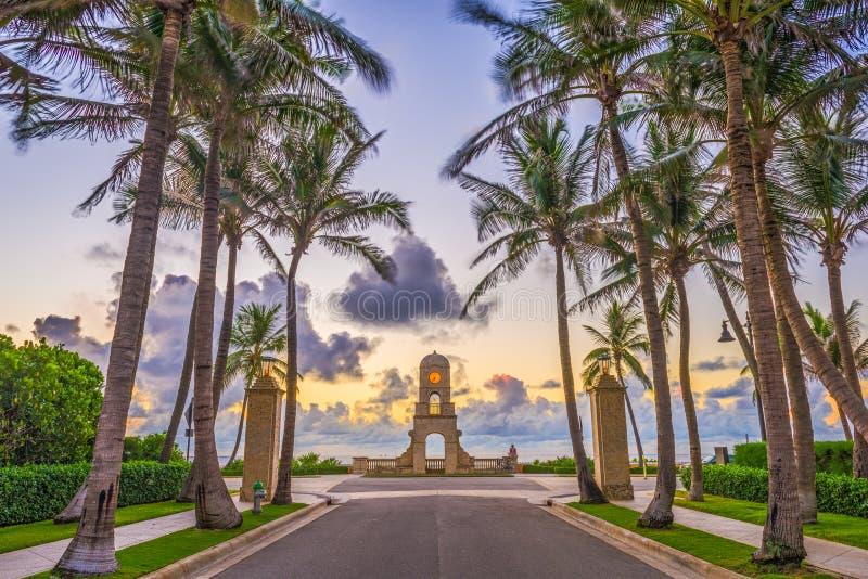 Palm Beach Florida arkivbilder