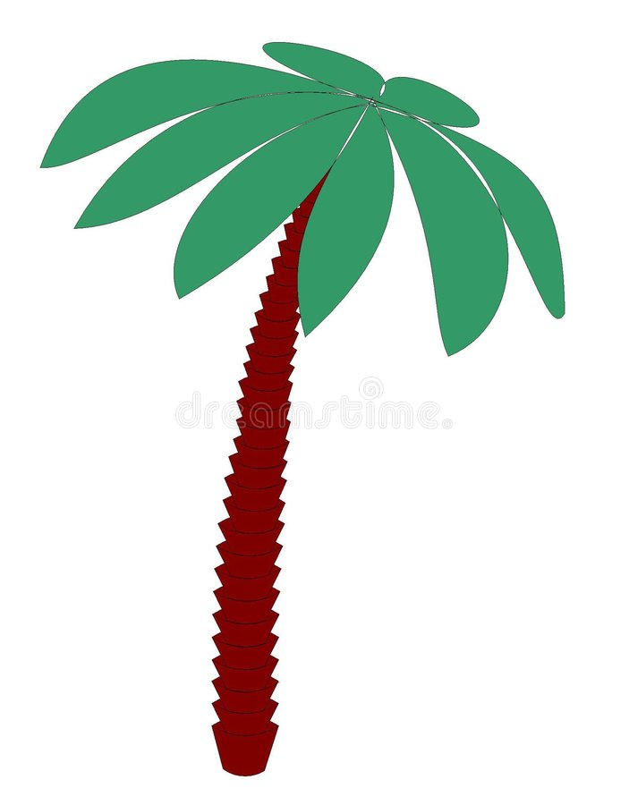 Download The palm illustration stock illustration. Illustration of isolated - 459503