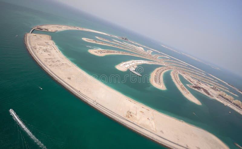 Palm Jumeirah Island royalty free stock photos