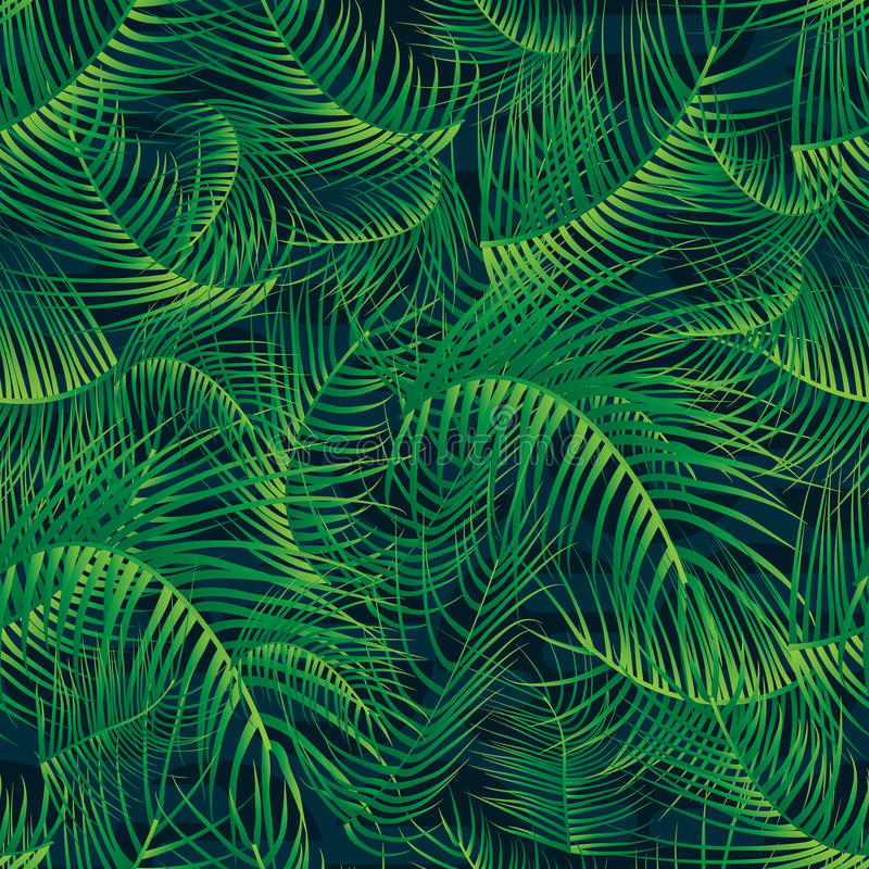 download palm leaf green full page seamless pattern stock image image of coconut green - Full Page Color
