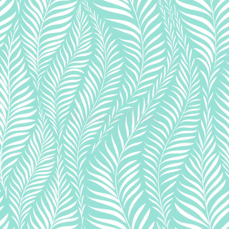 Free Palm Leaf Pattern Stock Image - 96379001