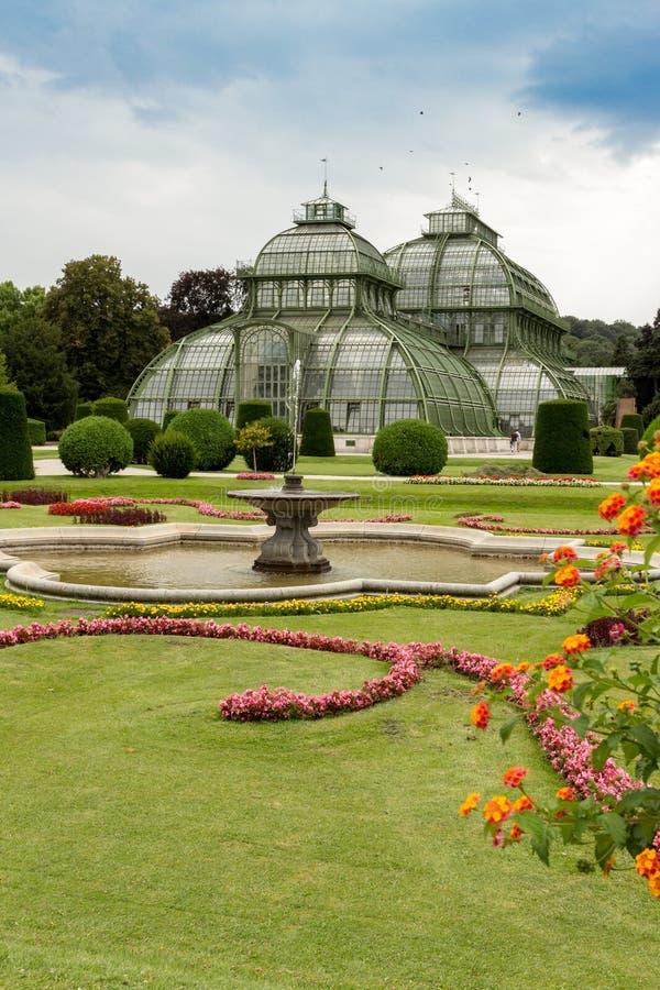 Palm Pavillon at Palace Schoenbrunn, Vienna. Austria royalty free stock photos