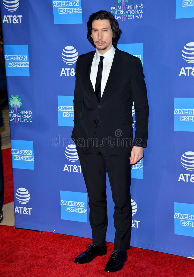 Adam Driver. PALM SPRINGS03, 2020: Adam Driver at the 2020 Palm Springs International Film Festival Film Awards Gala..Picture: Paul Smith/Featureflash stock photo