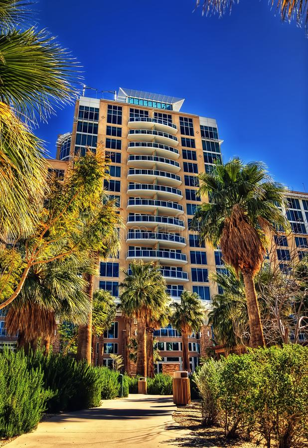 Palm Springs de Caliente da água fotos de stock royalty free