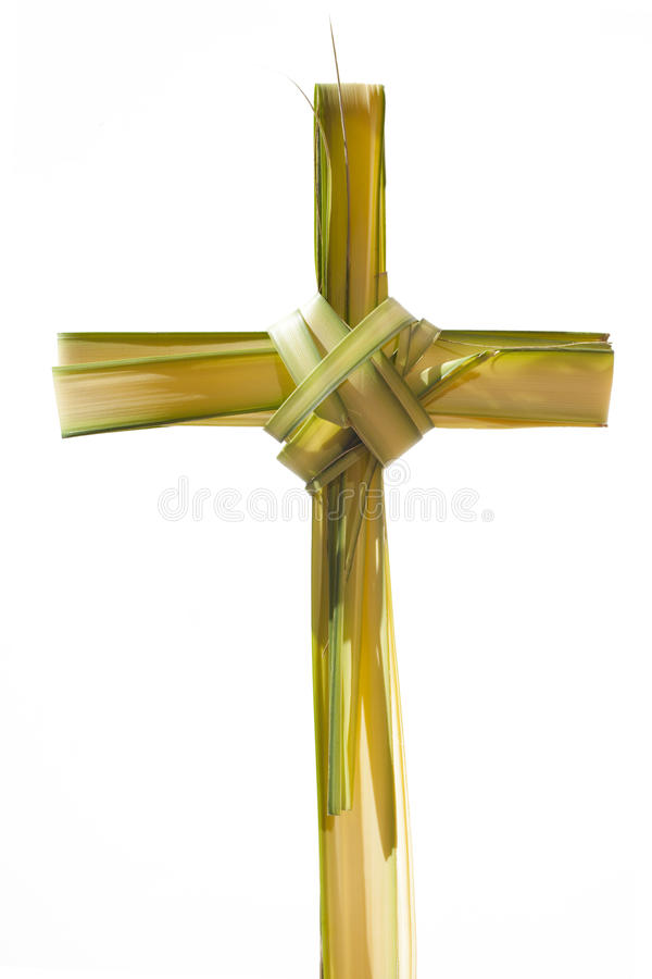 Palm Sunday's cross stock images