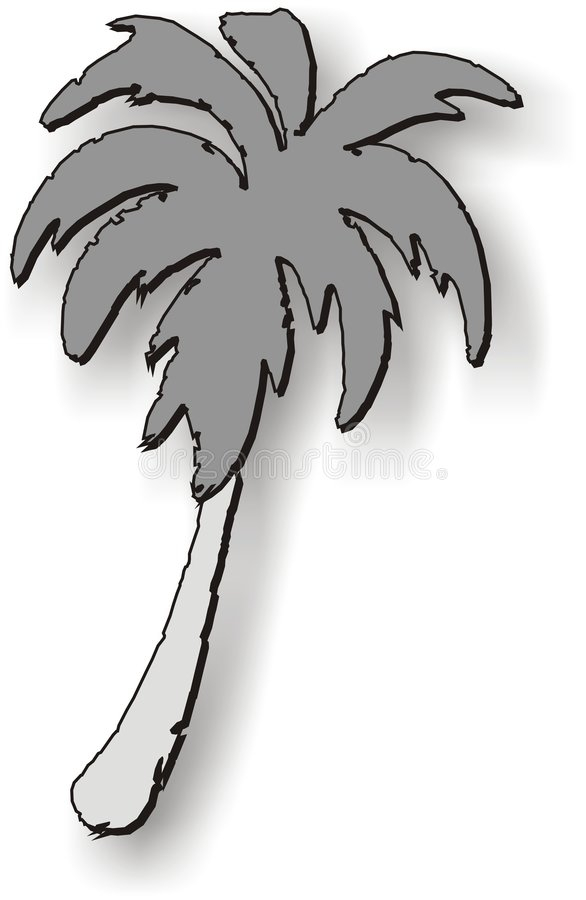 Palm Tree Graphic vector illustration