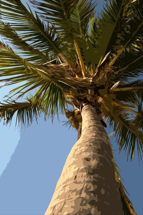 Download Palm tree illustration stock illustration. Image of travel - 345297