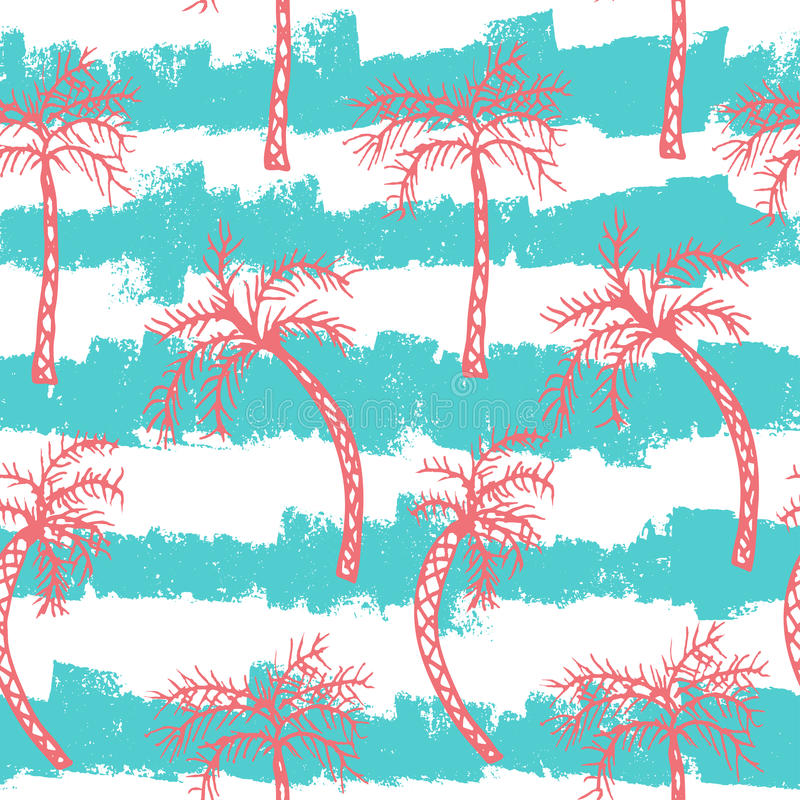 Free Palm Tree Seamless Pattern Royalty Free Stock Photo - 74775125