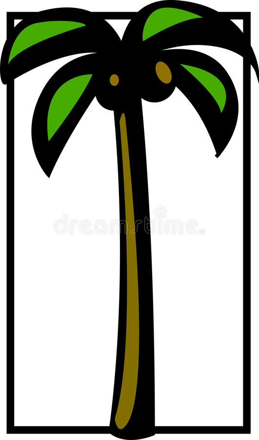 Download Palm Tree Vector Illustration Stock Image - Image: 1243901