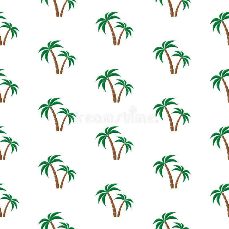 palm trees pattern stock vector illustration of paradise 64607867 rh dreamstime com palm tree leaf pattern vector