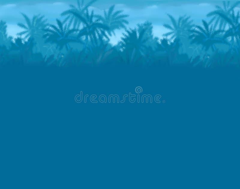 palm woods ilustracja wektor