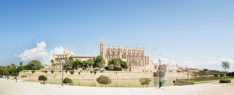 Palma圣塔玛丽亚大教堂  免版税库存照片