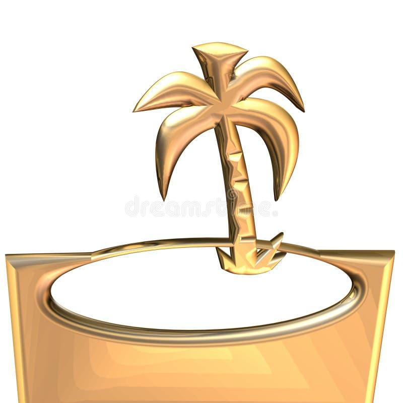 Palma ilustración del vector