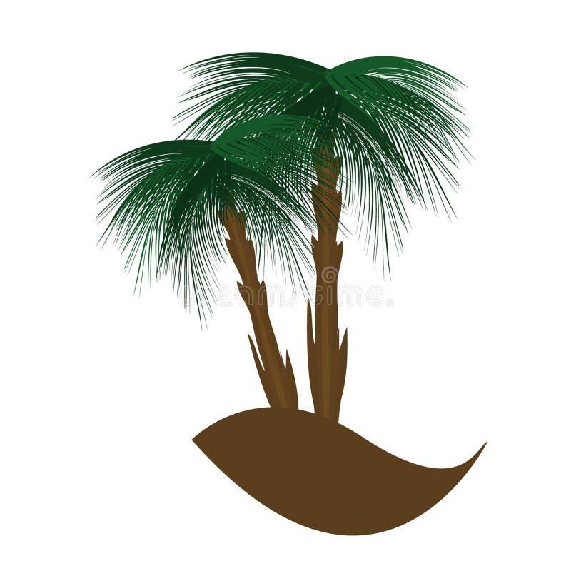 Palma stock de ilustración