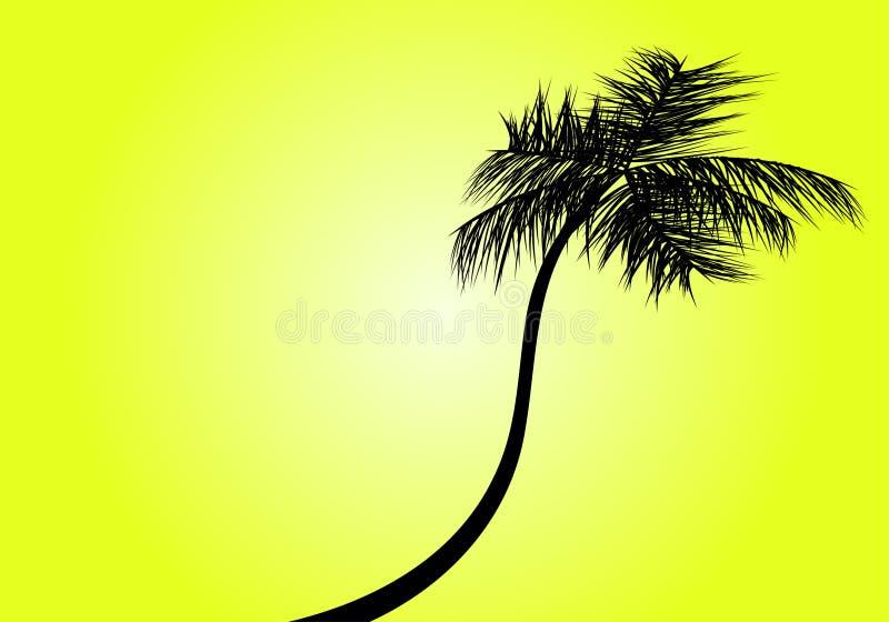 palma royalty ilustracja