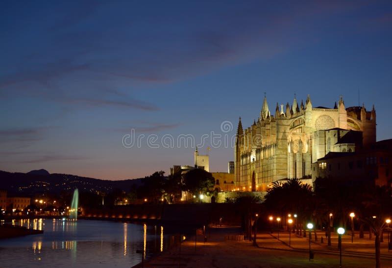Palma Cathedral fotografia stock
