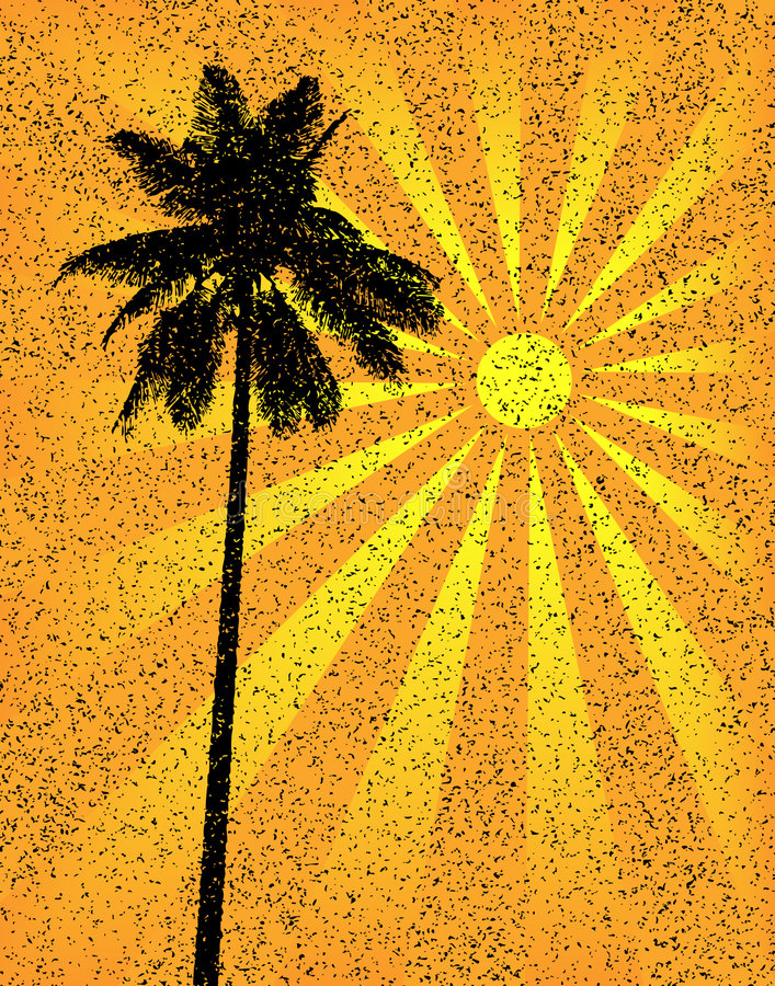 palma crunch ilustracji