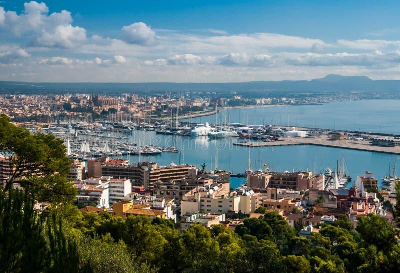 Palma de Majorca foto de archivo libre de regalías