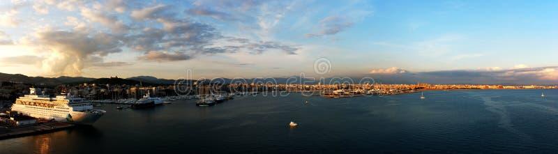 Palma de Majorca Panorama stock image