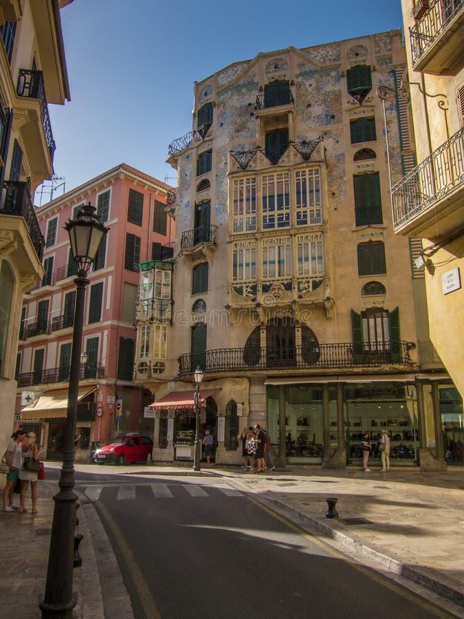 Palma de Mallorca imagem de stock royalty free