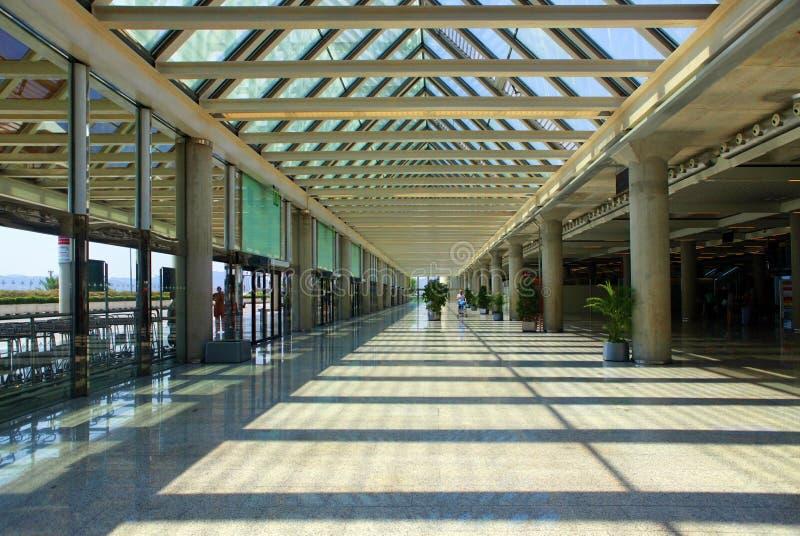 Palma de Mallorca Airport royalty-vrije stock afbeeldingen