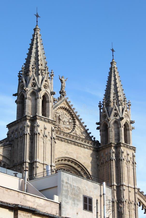 Palma de Mallorca cathedral royalty free stock photography