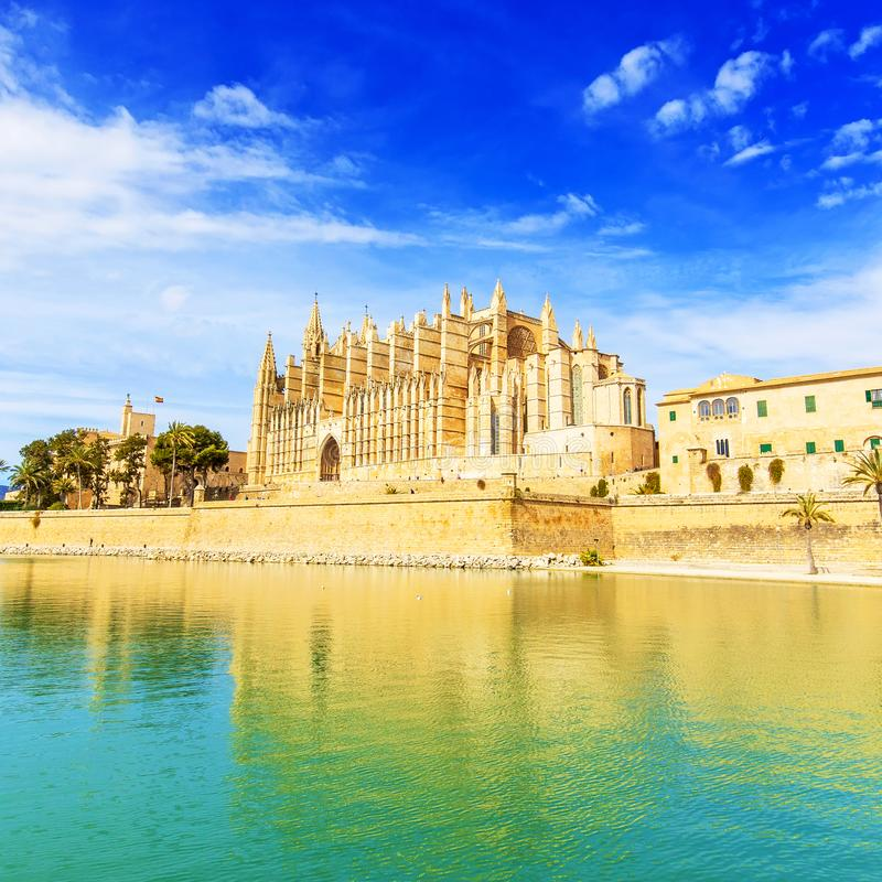 Free Palma De Mallorca Cathedral Spain Stock Photos - 154264003