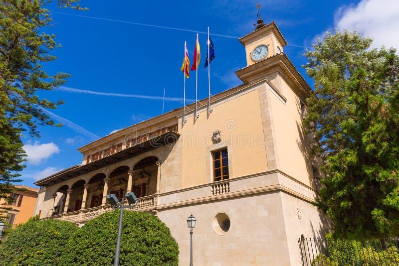 Palma de Mallorca Consulado de Mar cerca de Lonja imagen de archivo libre de regalías