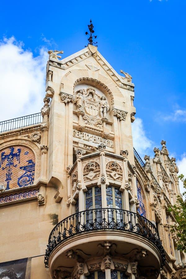 Palma de Mallorca del hotel de Gran foto de archivo