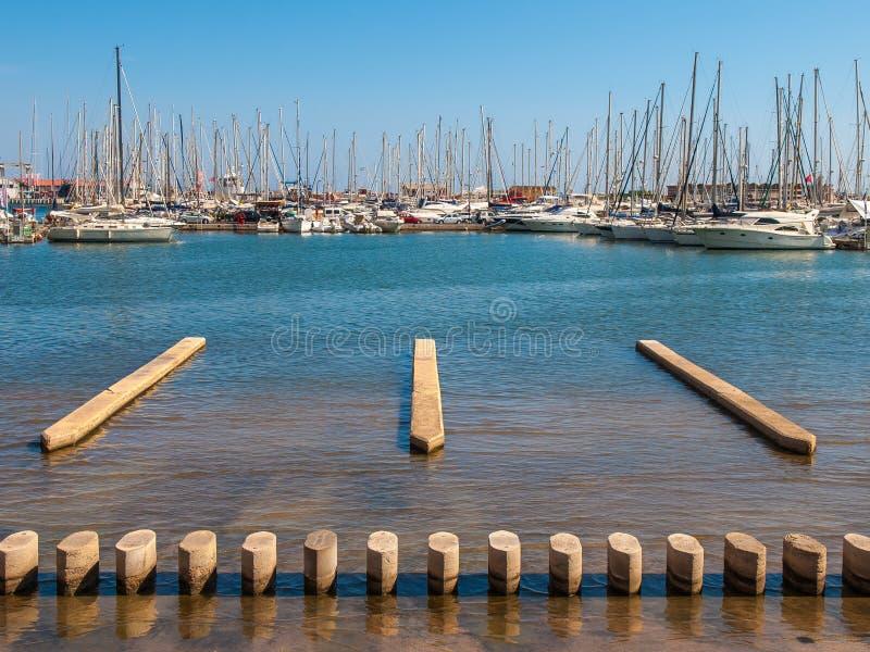 Palma de Mallorca Harbor fotografía de archivo