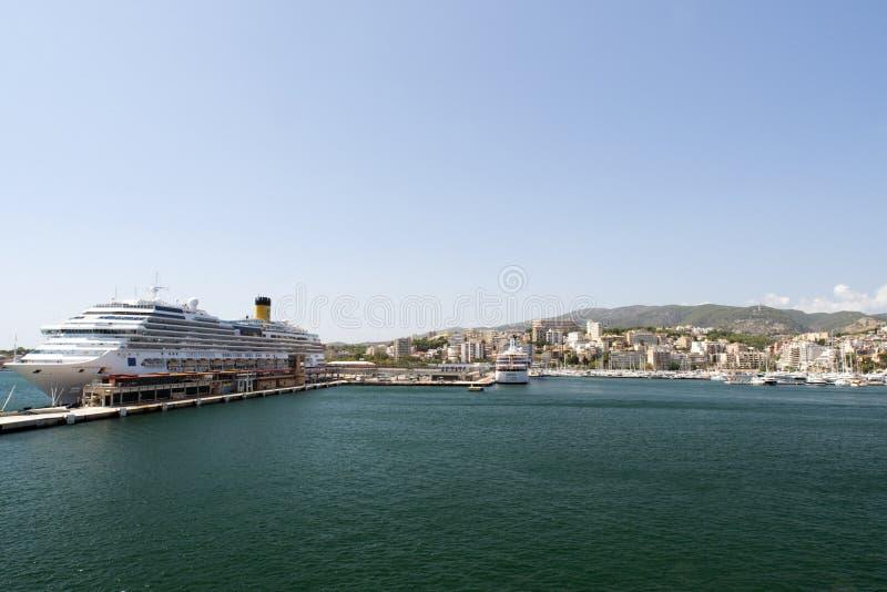 Palma de Mallorca Harbor imagen de archivo