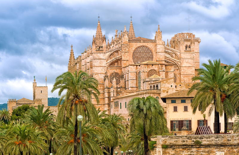 Palma de Mallorca, Hiszpania fotografia stock