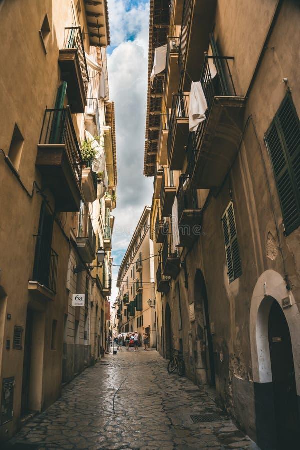 Palma de Mallorca, a municipalidade espanhola imagens de stock royalty free