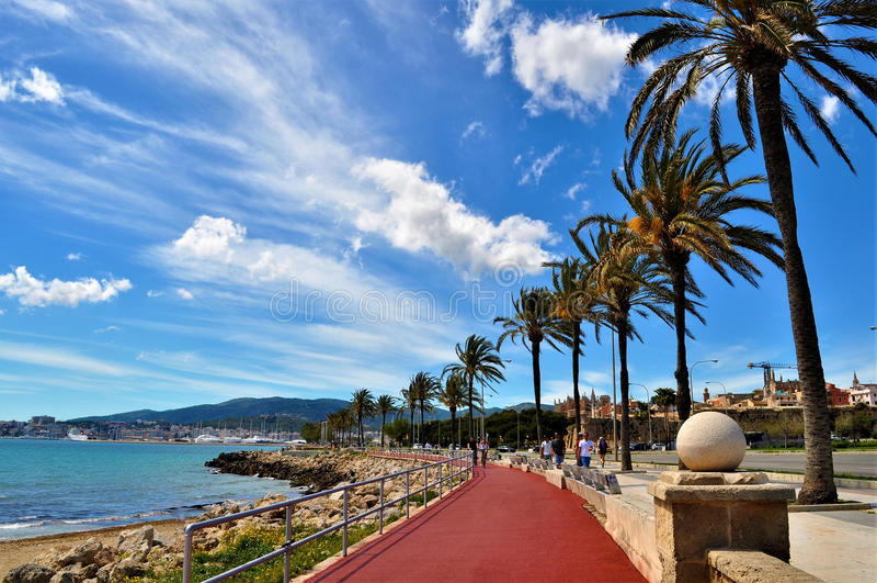 Palma de Mallorca, Spanje royalty-vrije stock foto's