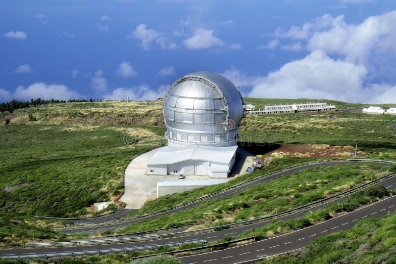 Palma della La dell'osservatorio fotografia stock