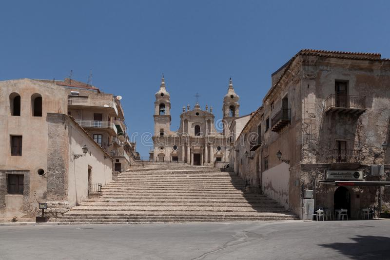 Palma di Montechiaro Sicily Italien royaltyfria bilder