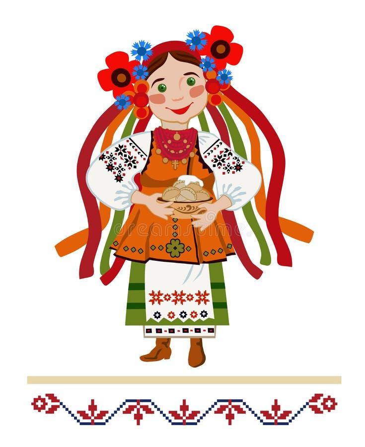 Palma domingo ilustração royalty free