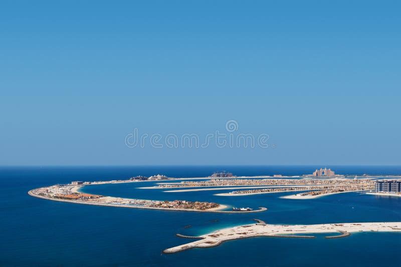 Palma Jumeirah, Dubai, UAE fotografia de stock