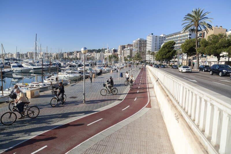 Palma Mallorca, de Balearen, Spanje stock foto's